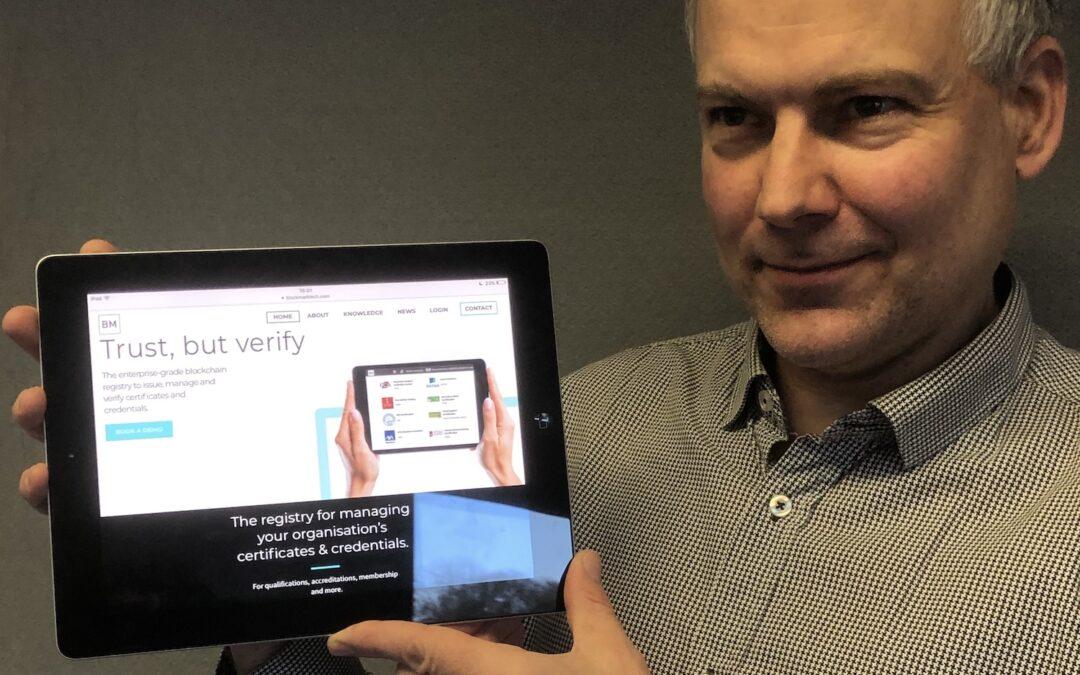 Interview with Dr Adrian Burden, BlockMark Technologies