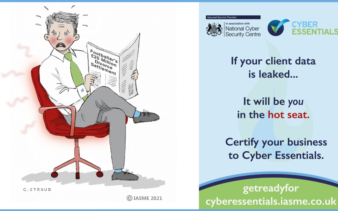 Cyber Essentials – simple, effective and affordable cyber security for the legal profession.