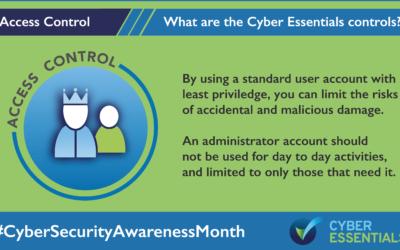 The Five Core Controls of Cyber Essentials – Access Control