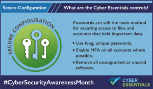 Cyber Essentials Secure Configuration