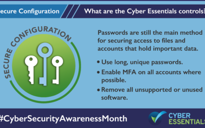 The Five Core Controls of Cyber Essentials – Secure Configuration