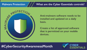 Cyber Essentials Control Malware Protection