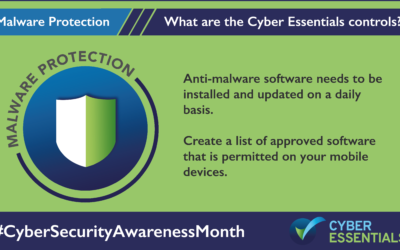 The Five Core Controls of Cyber Essentials – Malware Protection