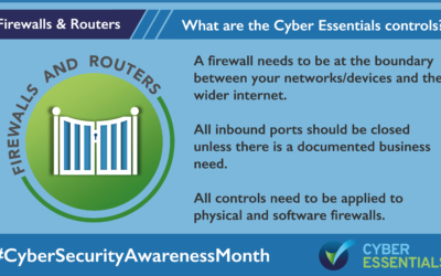 The Five Core Controls of Cyber Essentials – Firewalls and Routers